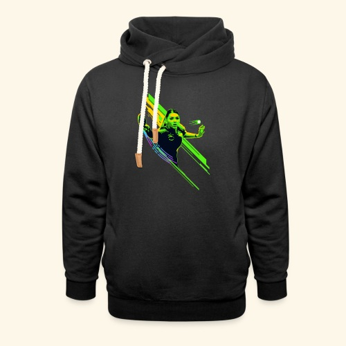 Eyes on the ball and focus playing the game - Schalkragen Hoodie