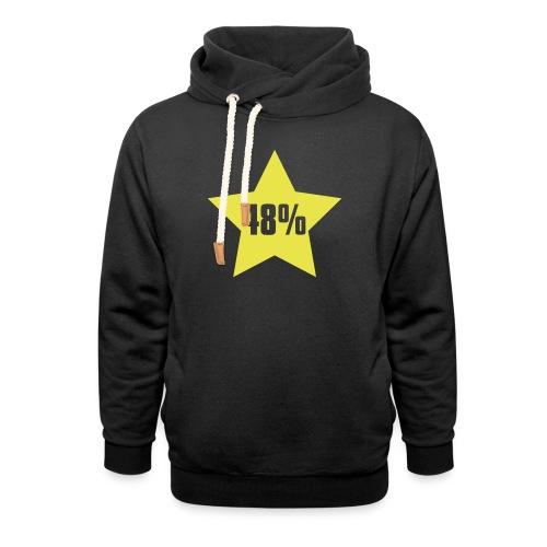 48% in Star - Shawl Collar Hoodie