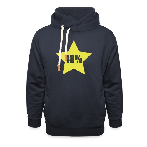 48% in Star - Shawl Collar Hoodie