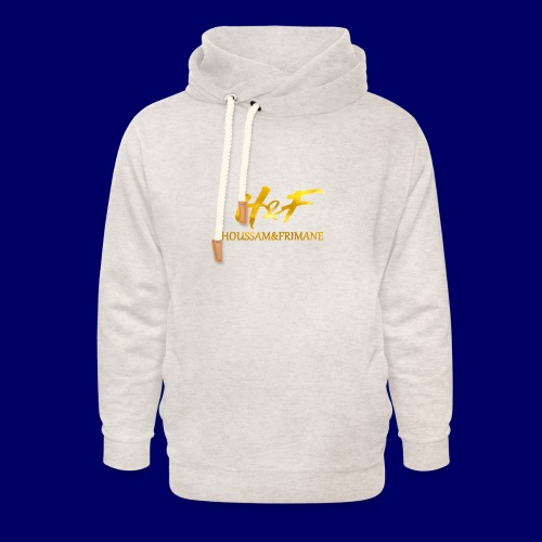 h f gold2 - Felpa con colletto alto unisex