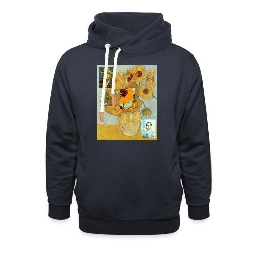 Vincent Van Gogh - Sudadera con capucha y cuello alto