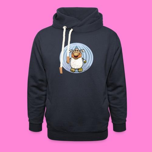 Halloween-sheep - Sjaalkraag hoodie