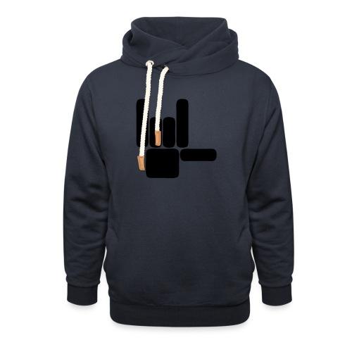 Beau Qui T'Eau boxershort - Unisex sjaalkraag hoodie