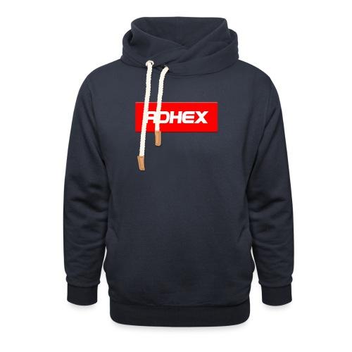 Adhex X Suprim - Sudadera con capucha y cuello alto unisex