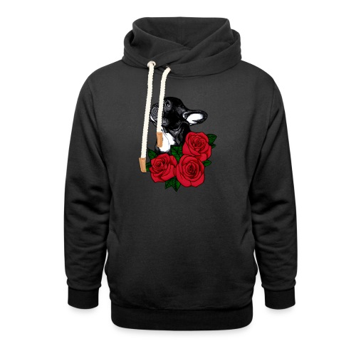 The French Bulldog Is So Famous - Shawl Collar Hoodie