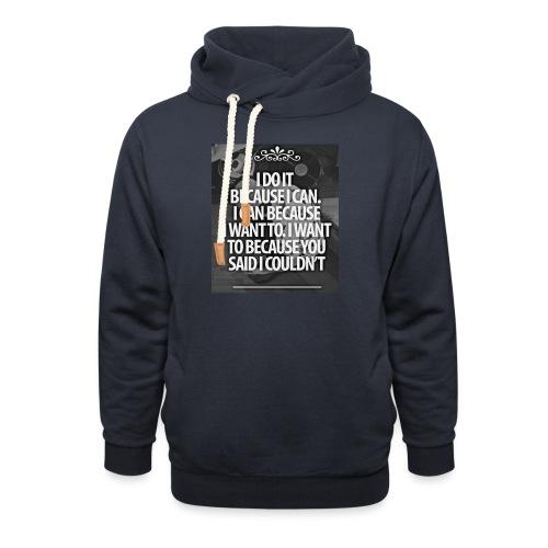 I_DO_IT - Sjaalkraag hoodie