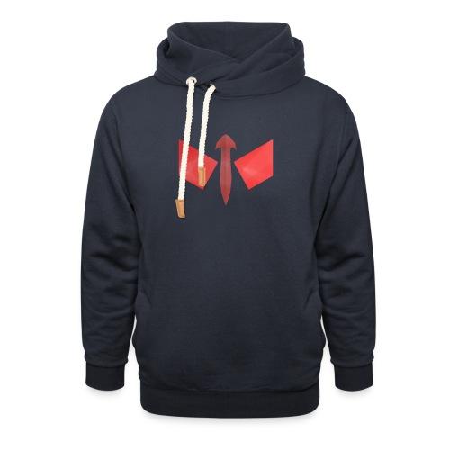 butterfly-png - Sjaalkraag hoodie