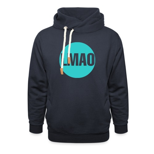 Camiseta Lmao - Sudadera con capucha y cuello alto