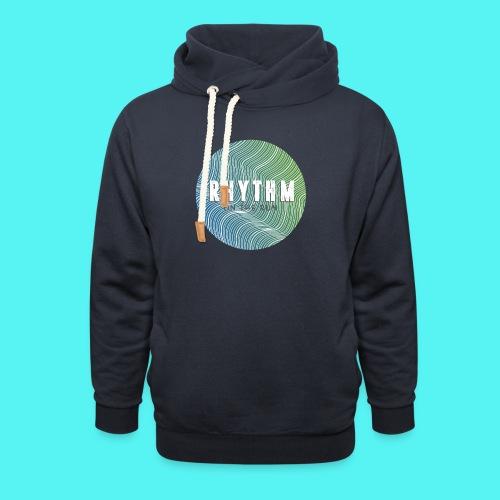 Rhythm On The Run Logo - Shawl Collar Hoodie