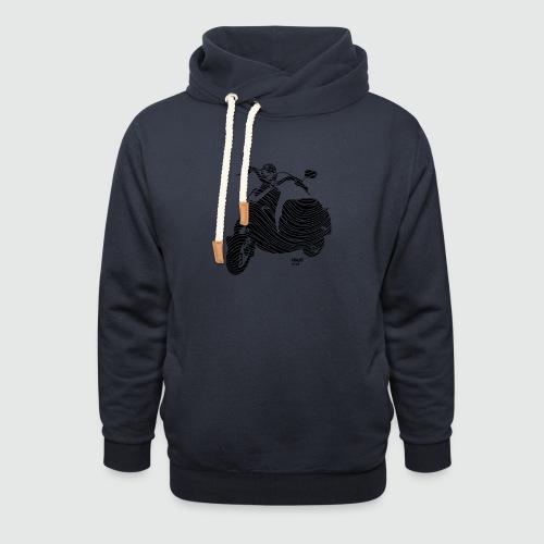 DSGN-girly 02 - Sjaalkraag hoodie
