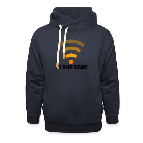 In the zone women - Unisex sjaalkraag hoodie