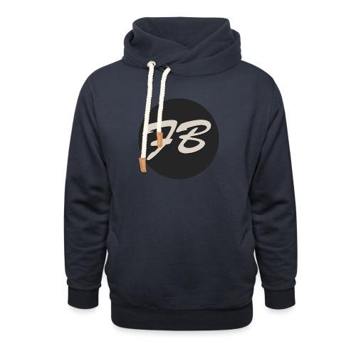 TSHIRT-INSTAGRAM-LOGO-KAAL - Unisex sjaalkraag hoodie