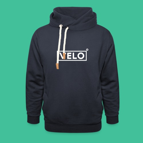 Velo Icon - Blk Track Jacket - Shawl Collar Hoodie