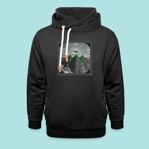 Invaders_sized4t-shirt - Shawl Collar Hoodie