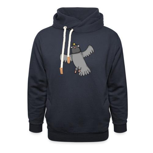 OpperDuif - Unisex sjaalkraag hoodie
