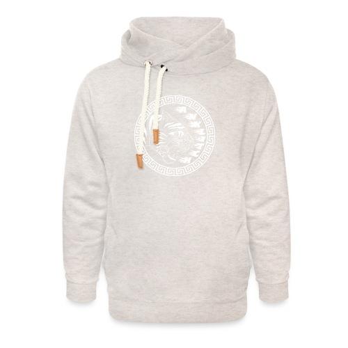 trui Anklitch - Unisex sjaalkraag hoodie