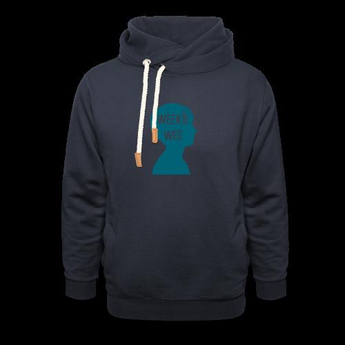 TShirt_Weekiewee - Sjaalkraag hoodie
