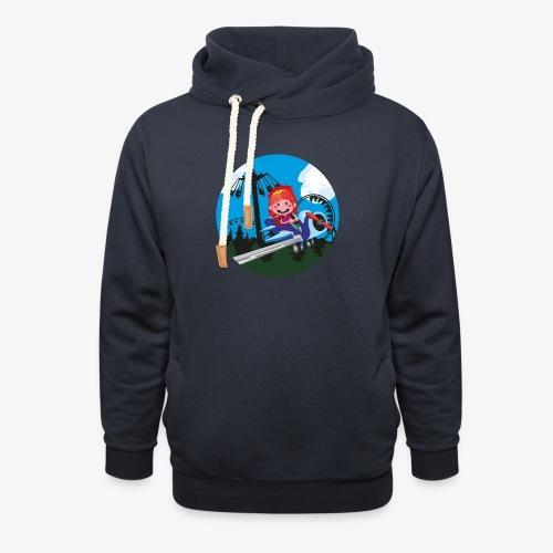 Themeparkrides - Airplanes - Sjaalkraag hoodie
