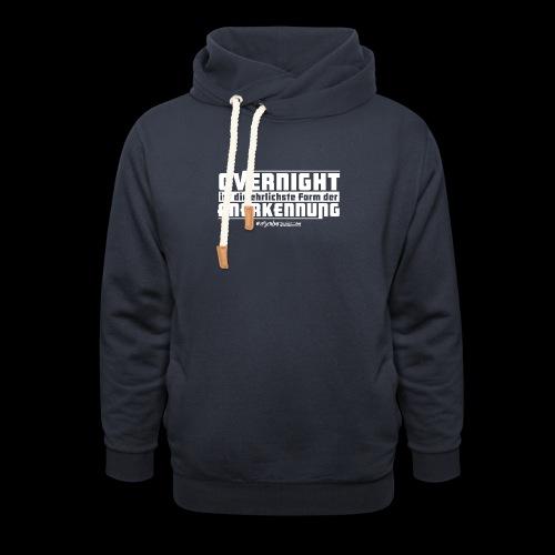 Overnight - Unisex Schalkragen Hoodie