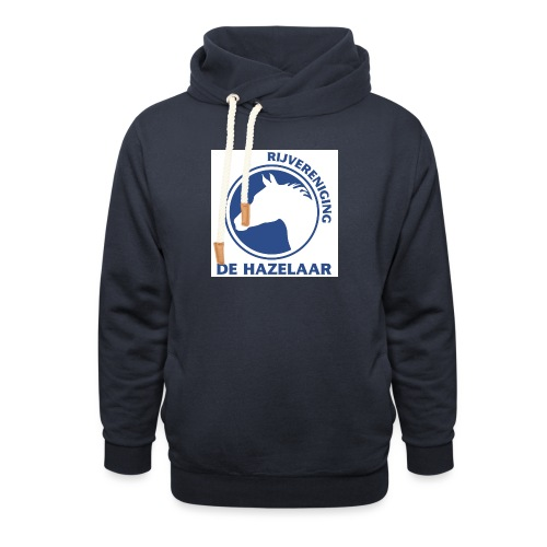 LgHazelaarPantoneReflexBl - Sjaalkraag hoodie