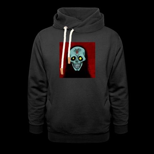 Ghost skull - Shawl Collar Hoodie