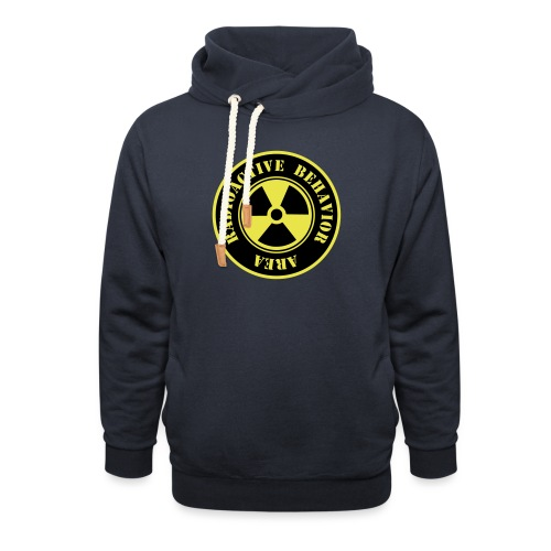 Radioactive Behavior - Sudadera con capucha y cuello alto