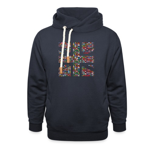 The Union Hack - Unisex Shawl Collar Hoodie