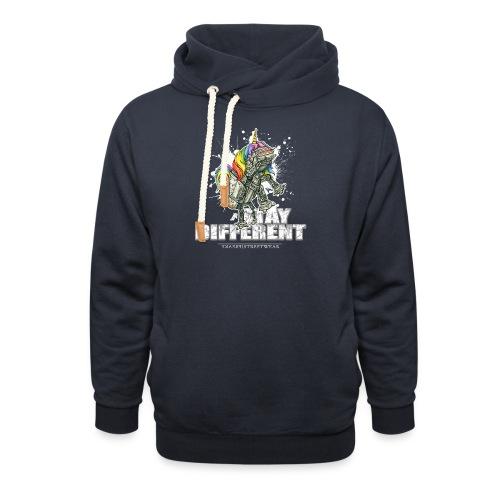 Stay Different - Imperial Unicorn - Schalkragen Hoodie