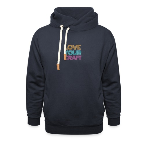 Love your craft - Felpa con colletto alto unisex