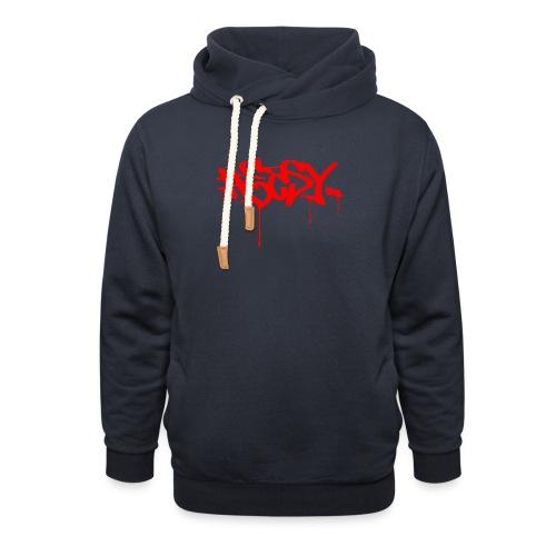 #EASY Graffiti Logo T-Shirt - Felpa con colletto alto