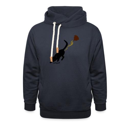 Catapult - Sjaalkraag hoodie