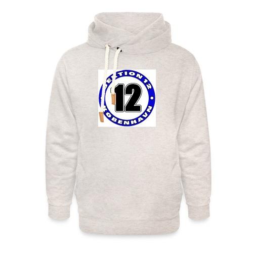 Udklip - Unisex hoodie med sjalskrave