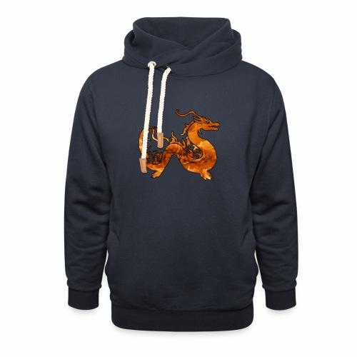 Le Dragon du Feu -J'peux pas j'ai un Dragon du Feu - Sweat à capuche cache-cou
