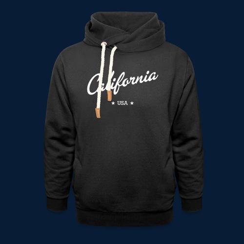California - Unisex Schalkragen Hoodie