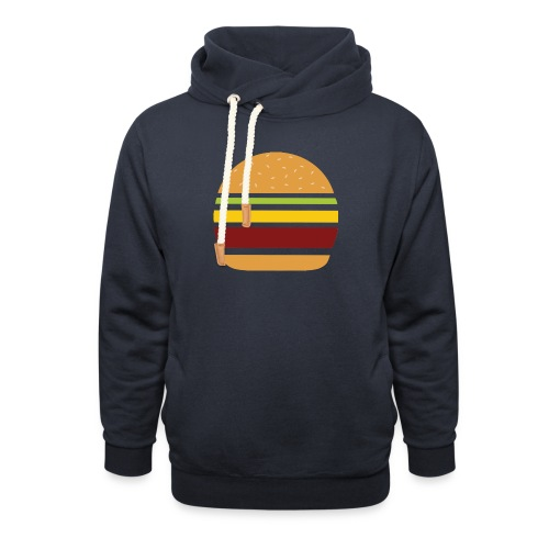 Logo Burger Panhamburger - Sweat à capuche cache-cou
