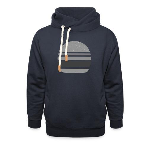 Logo_panhamburger_gris - Sweat à capuche cache-cou
