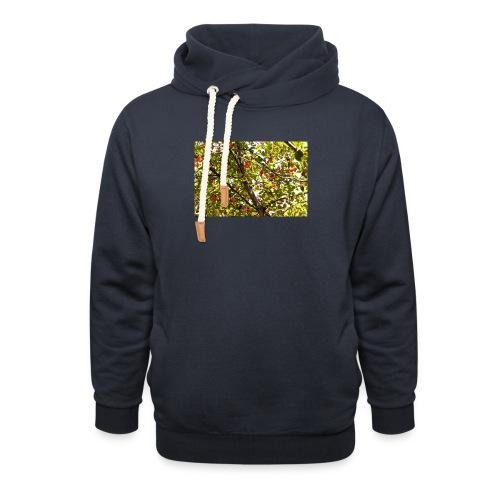 kersenboom afdruk/print - Unisex sjaalkraag hoodie