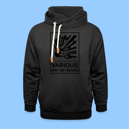 VariousExplosions (1 colour) - Shawl Collar Hoodie