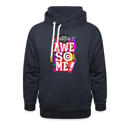 Different = Awesome - Shawl Collar Hoodie