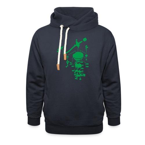 tonearm05 - Unisex sjaalkraag hoodie