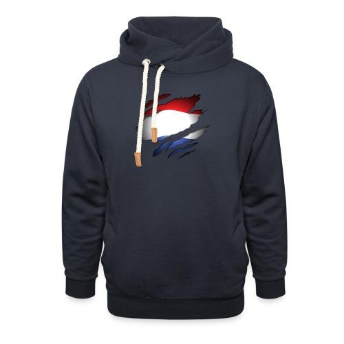 Dutch Inside: Vlag - Sjaalkraag hoodie