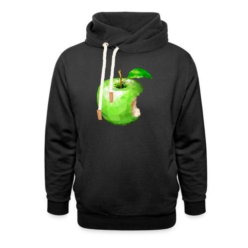 Apfel - Schalkragen Hoodie