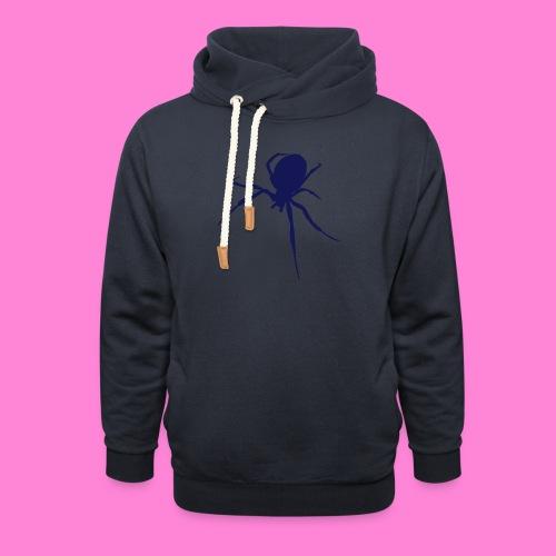 Spin Spider - Sjaalkraag hoodie