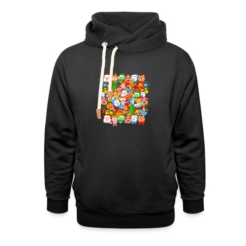 All are ready for Christmas, to celebrate in big! - Shawl Collar Hoodie