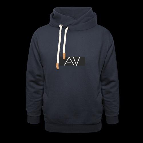 AV White - Shawl Collar Hoodie
