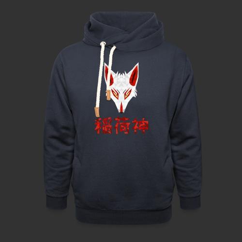 Inari Fox (稲荷神) - Sweat à capuche cache-cou