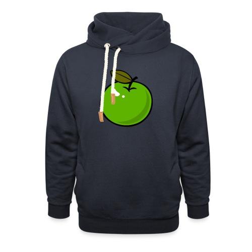 appel_d - Sjaalkraag hoodie