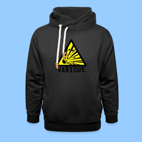 VariousExplosions Triangle (2 colour) - Shawl Collar Hoodie