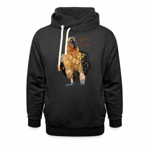 Gypaetus barbatus - Schalkragen Hoodie