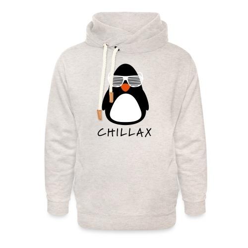 Chillax - Unisex sjaalkraag hoodie